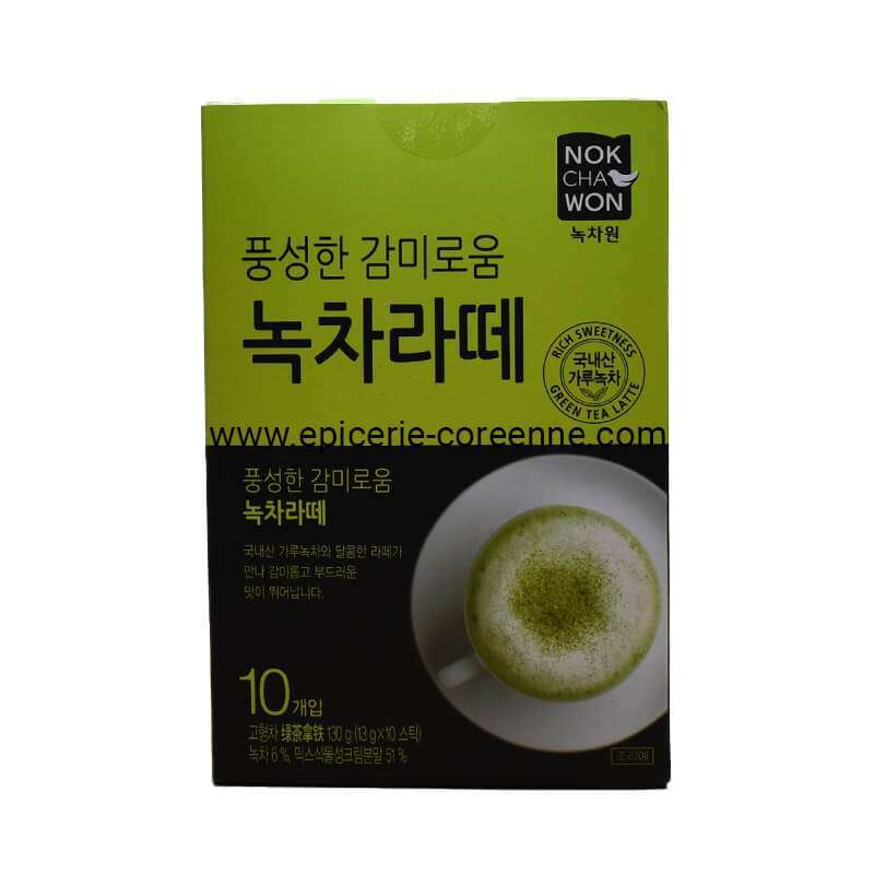Green Tea Latte - NOK CHA WON, 130 gr