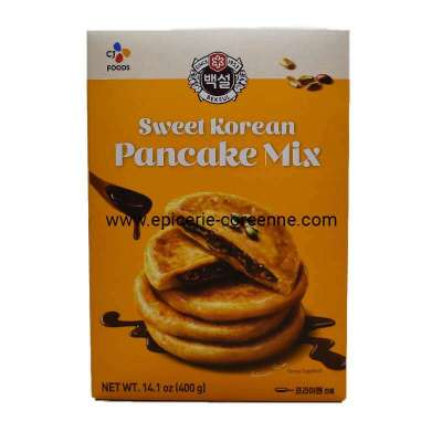 Hotteok, sweet pancake mix, Beksul, 400 g Nouveau packaging