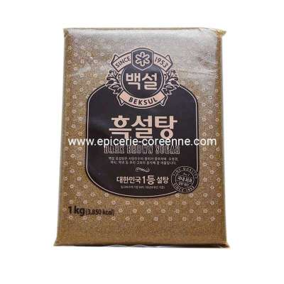 "Cassonade ""Dark Brown sugar"" - BEKSUL, 1KG"