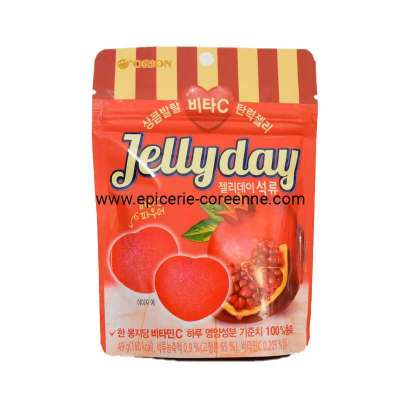 """""""Jelly Day"""" vitamine C, saveur grenade - ORION, 49g."""