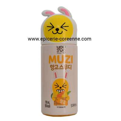 [KAKAO Friends - Muzi] Smoothie à la mangue - YOUUS, 190 ml.