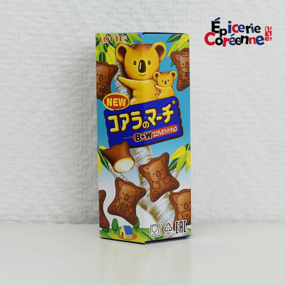 Koala's March, parfum au chocolat blanc - Lotte, 49 g