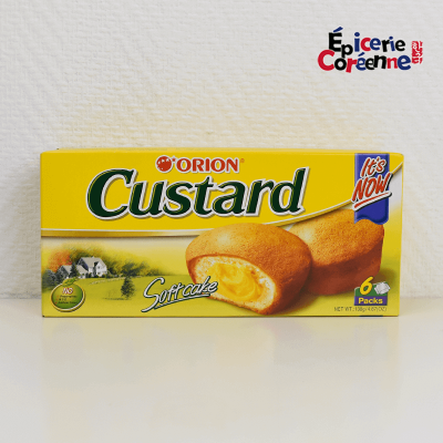 Custard - ORION,  138 g.