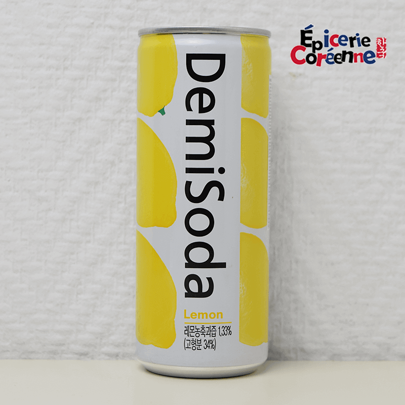 Soda goût Citron - Demisoda, 250 ml