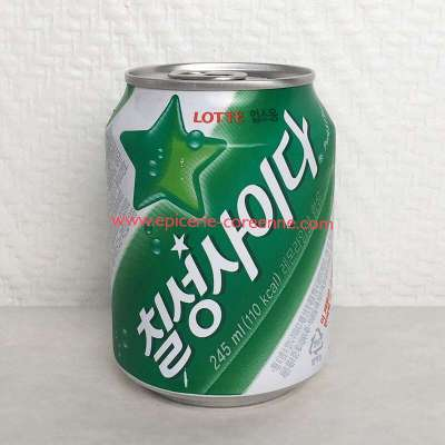 Chilsung Cider (can), 245 ml