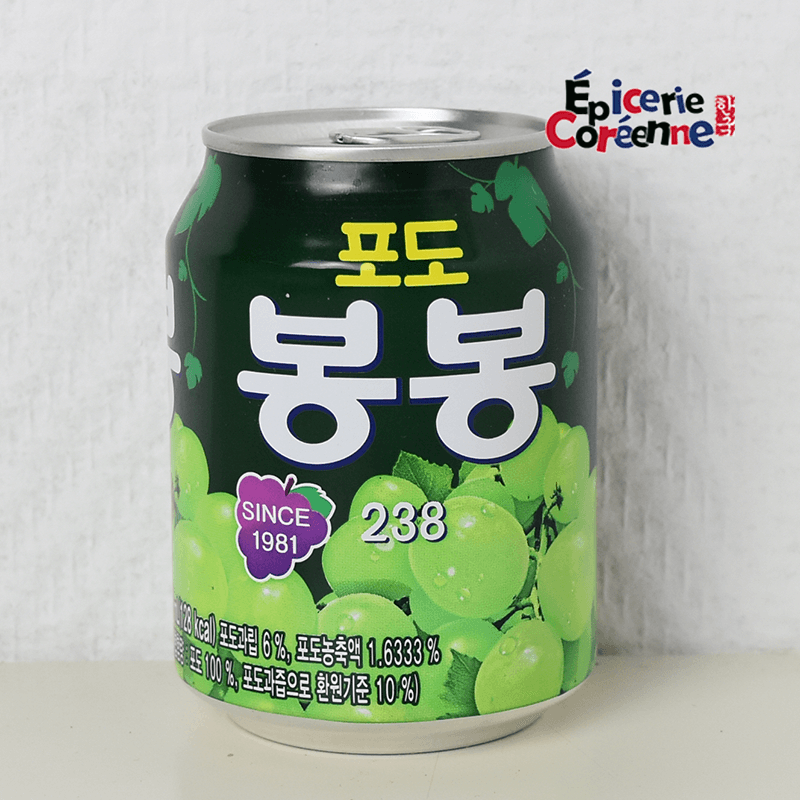"Jus de raisin ""BongBong"" - Haitai, 238 ml  - 1"