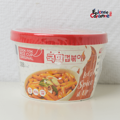 Rice Tobokki Cup – ORIGINAL, 163 g.