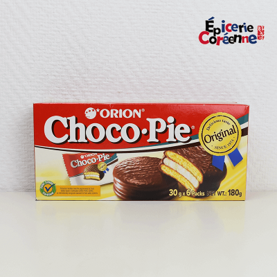 Choco Pie x 6 sachets individuels - ORION, 128G.