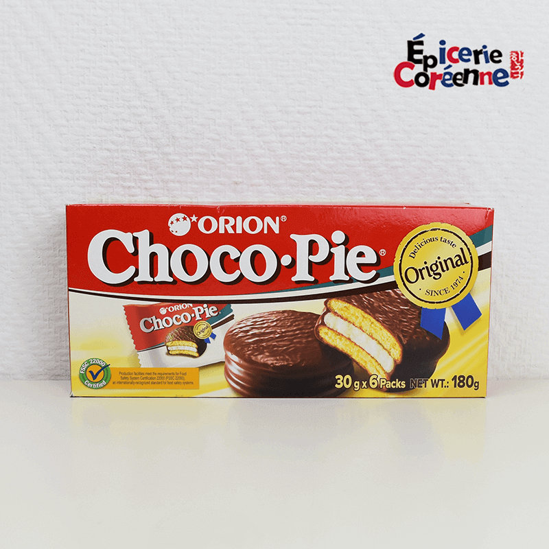 Choco Pie x 6 sachets individuels - ORION