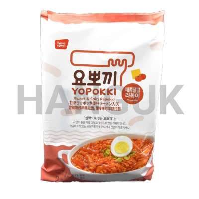 Sweet & Spicy Rapokki (2 personnes) - YOUNG POONG, 260G.