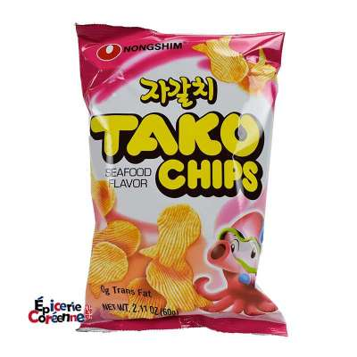 Tako Snack, crackers saveur fruits de mer