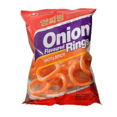Onion Rings Hot & spicy, Nongshim, 40g
