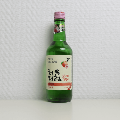 Soju pêche Sunhari, Chum Churum, 360ML