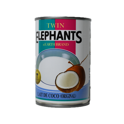 Lait de coco, Elephants, 400ml