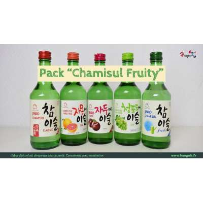 "Pack Soju ""Chamisul Fruity"""