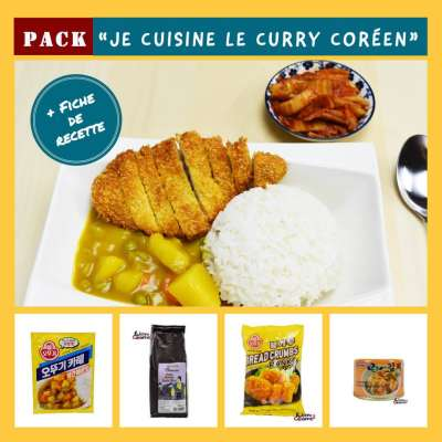 "Pack ""Je cuisine un Curry"""