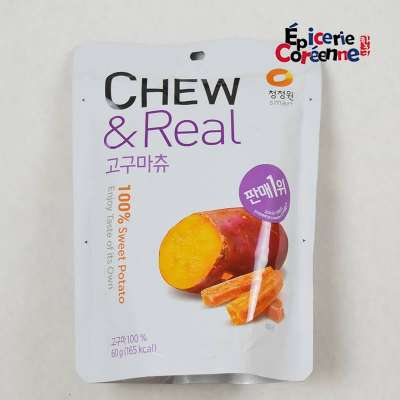 CHEW & REAL, Patate Douce rotie - CJO, 60 G.